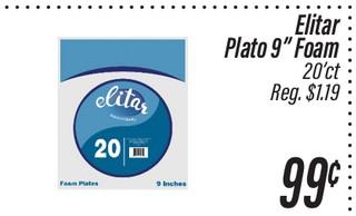 Platos Foam Elitar