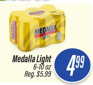 Cerveza Medalla Light