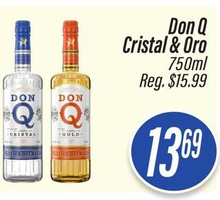 Ron Don Q Cristal & Oro