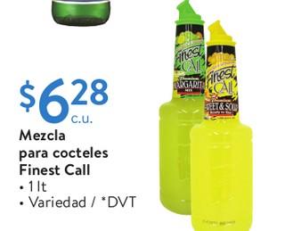 Mezcla para cocteles Finest Call