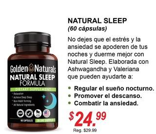NATURAL SLEEP GOLDEN NATURAL