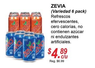 Zevia (Variedad 6 Pack)