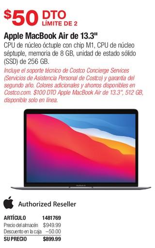 """Apple Macbook Air de 13.3"""""""
