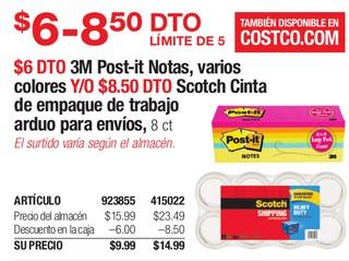 3M Post-it Notras, Varios Colores