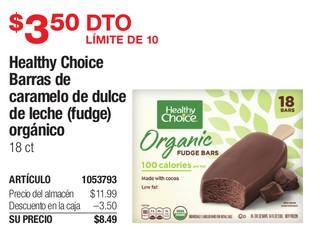 Healthy Choice Barras de Caramelos de Dulce de Leche