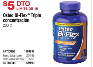 Osteo Bi-Flex Triple Concentración