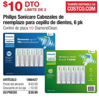 Philips Sonicare Cabezales de Reemplazo para Cepillo de Dientes