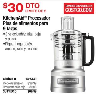 Kitchen Aid Procesador Plus de Alimentos para 9 Tazas