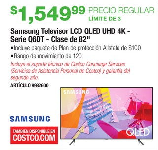 Samsung Televisor LCD UHD