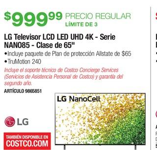 LG Televisor LCD LED UHD 4K - Serie