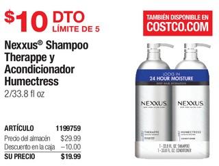 Nexxus Shampoo Therappe y Acondicionador Humectress