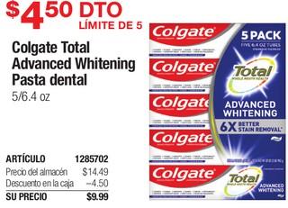 Colgate Total Advanced Whitening Pasta Dental