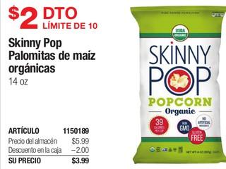 Skinny Pop Palomitas de Maíz Orgánicas