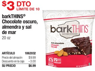 BarkTHINS Chocolate Oscuro