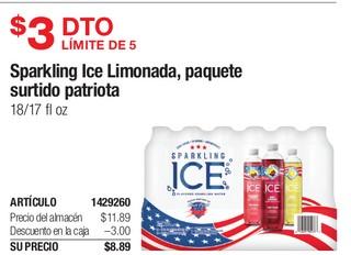 Sparkling Ice Limonada