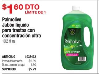 Palmolive Jabon Liquido para trastos con concentracion ultra