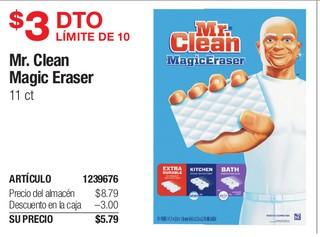 Mr. Clean Magic Sraser 11 ct