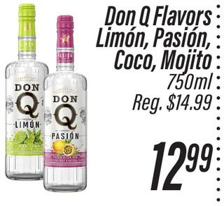 Don Q Flavors