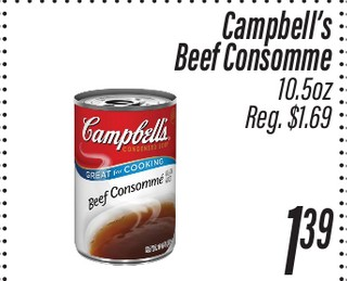 Beef Consomme Campbell's