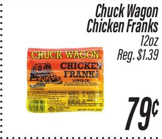 Chicken Frank Chuck Wagon