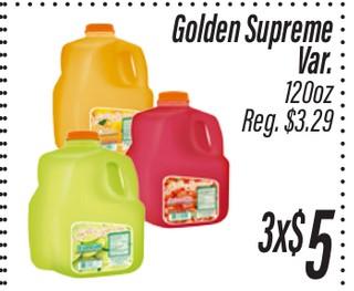 Golden Supreme Jugo