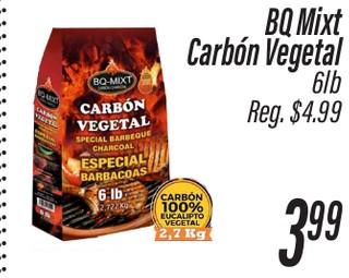 BQ Mixt Carbón Vegetal