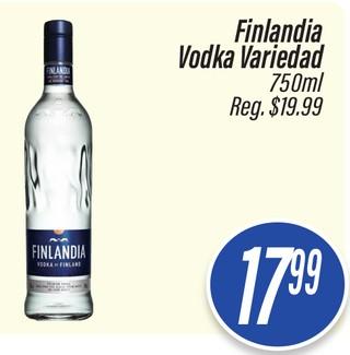 Finlandia Vodka Variedad