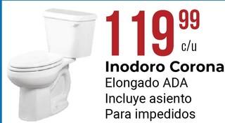 Inodoro Corona