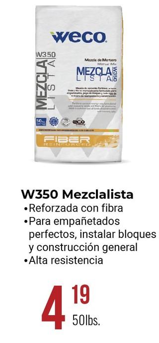 W350 Mezclalista