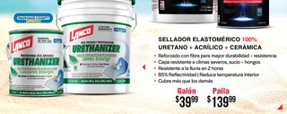 Sellador Elastomérico 100% Uretano + Acrílico + Cerámica