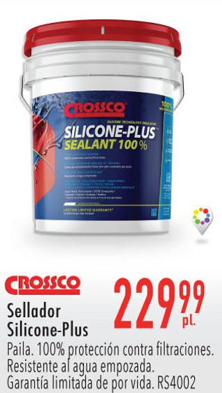 Crossco Sellador Silicone-Plus