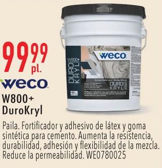 WECO W800+DuroKryl