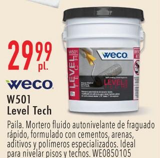 WECO W501 LevelTech