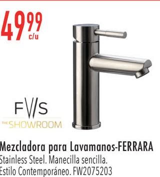 Mezcladora para Lavamanos-Ferrara