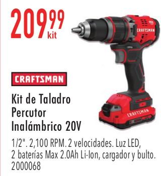 Craftsman Kit de Taladro