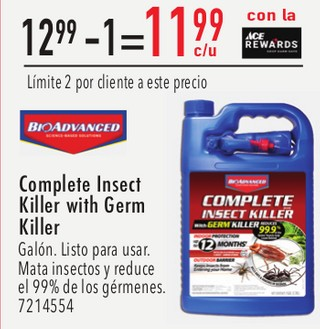Complete Insect Killer With Germ Killer