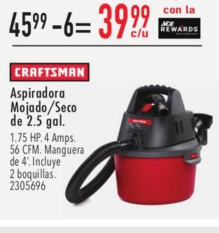 Craftsman Aspiradora Mojado/Seco