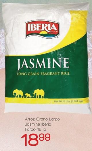Arroz Grano Largo Jasmine Iberia