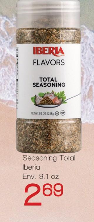 Seasoning Total Iberia