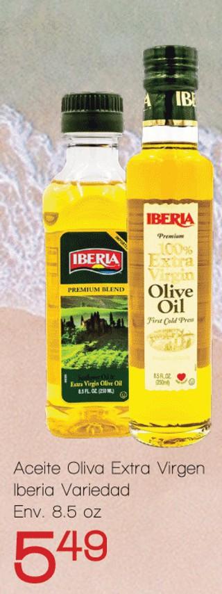 Aceite de Oliva Extra Virgen Iberia Variedad