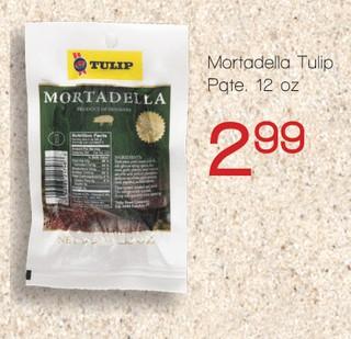 Mortadella Tulip