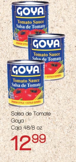Salsa de Tomate Goya