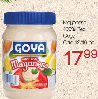 Mayonesa 100% Real Goya