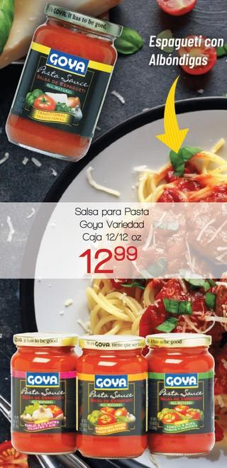 Salsa Para Pasta Goya Variedad