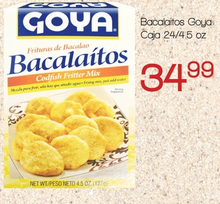 Bacalaítos Goya