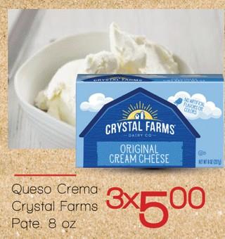 Queso Crema Crystal Farms