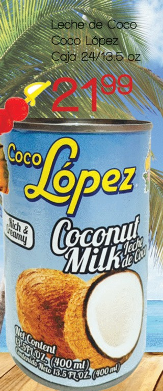 Leche de Coco Coco López