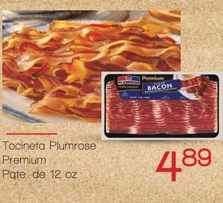 Tocineta Plumrose Premium