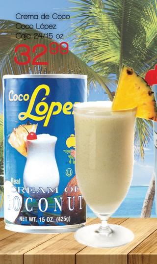 Crema de Coco Coco López