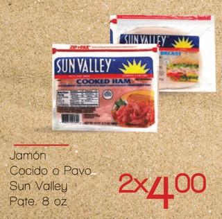 Jamón Cocido o Pavo Sun Valley
